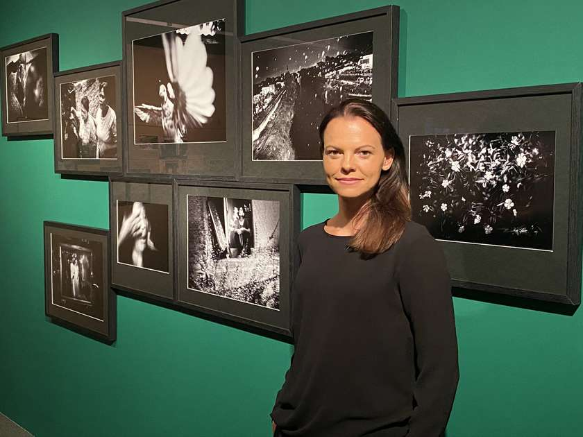 "Guided tour of the ""Vision 20/20: Community"" exhibition with the curator, Marija Skočir"