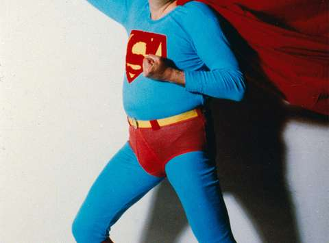 Action Superman, 1984, photo: B. V. Cobra, courtesy: Tomislav Gotovac Institute