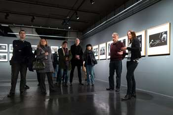 Guided tour of the Tihomir Pinter: The Chemistry of the Image exhibition